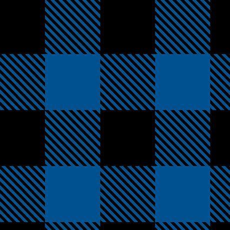 0015B2/ Blue/Black