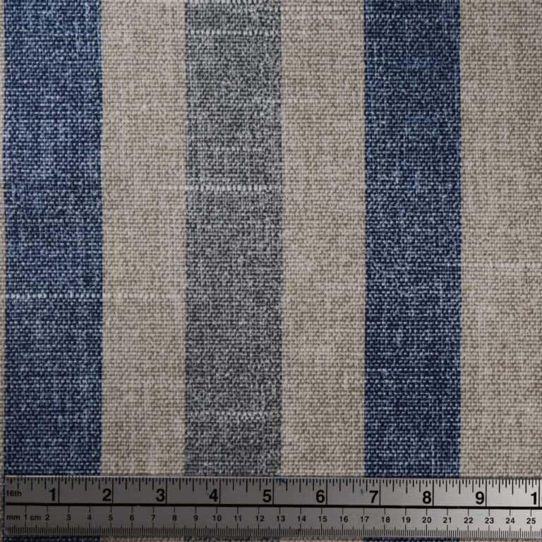 "1 3/4"" Stripe/ Blue/Grey"