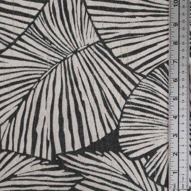Palm Leaf/ Grey