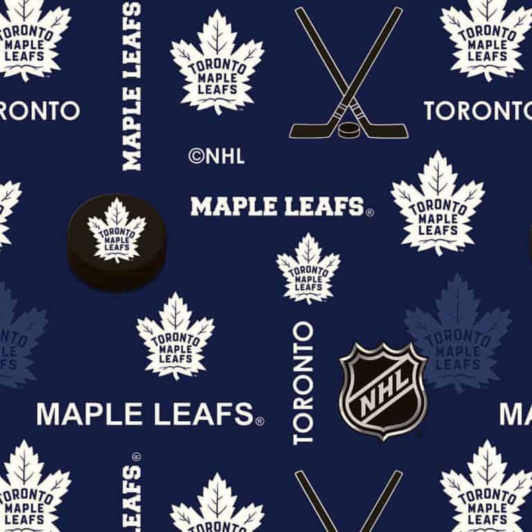 Leafs/Blue/White