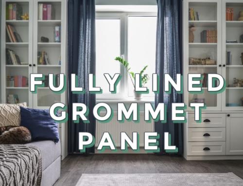 Full Lined Grommet Panel (accompanying video)