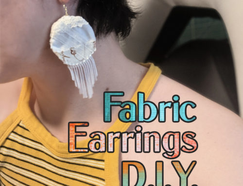 Fabric Earring D.I.Y.