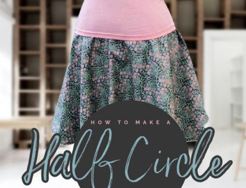 Half-Circle Skirt D.I.Y.