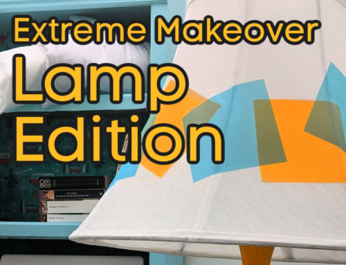 Extreme Makeover:  Lamp Edition